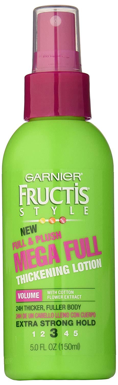 garnier hair care fructis mega full thickening lotion