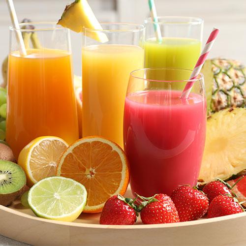 pineapple juice morning breakfast drink