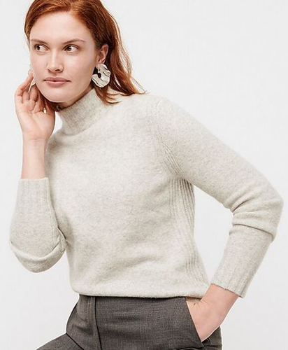 Mockneck Sweater