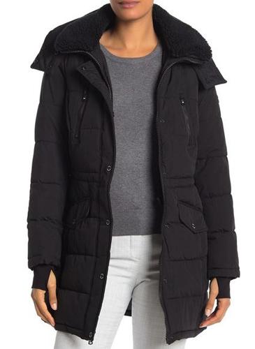 Collar Puffer Jacket
