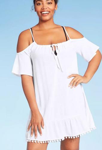 Shoulder Dress Cover Up