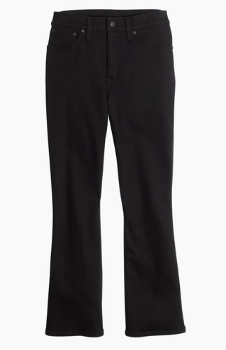 Demi-Boot Jeans in Black Frost