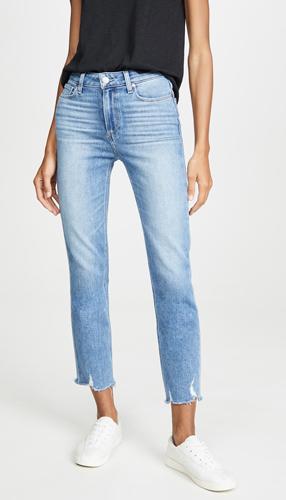 Destroyed Hem Jeans