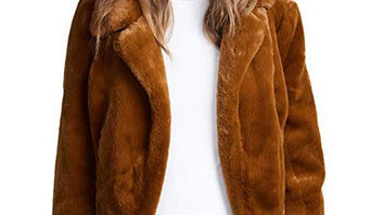 This Faux Fur Jacket Looks SO Expensive--But It's Under $100 On Amazon!