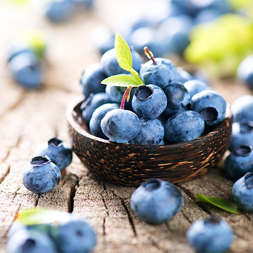 blueberries breakfast good for anti aging skincare