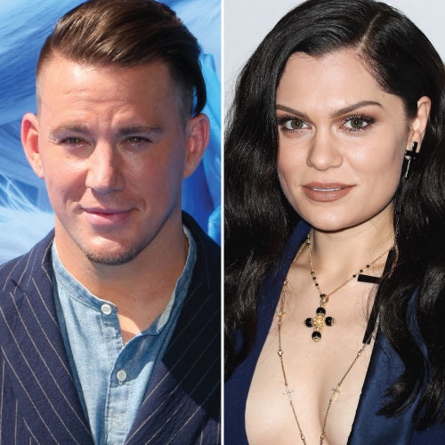 Jessie J and Channing Tatum