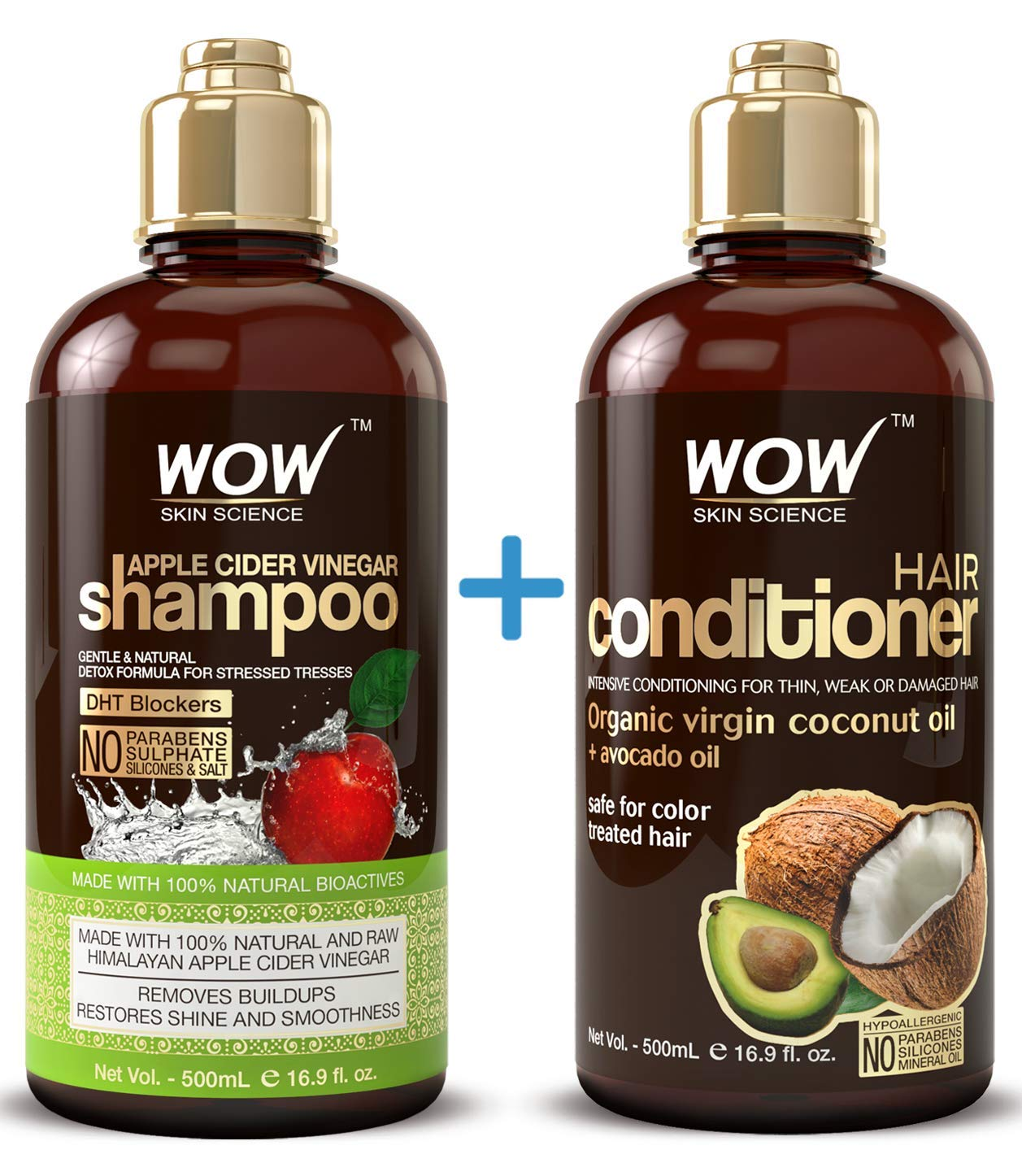 wow shampoo and conditioner