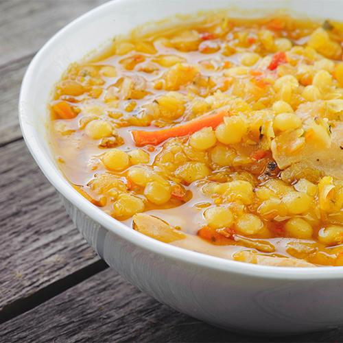 Chicken soup.