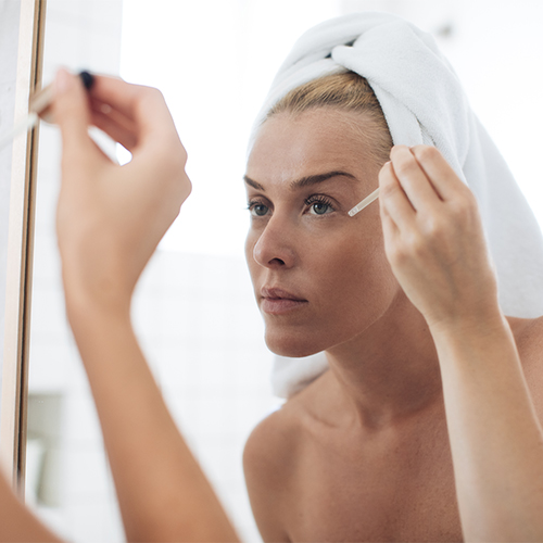 best brightening anti-aging skincare for under eye circles and dark spots