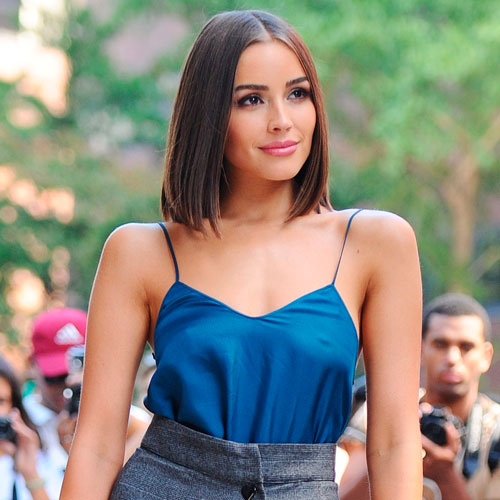 Olivia Culpo Just Wore A Super Tiny Red Bra--& Now We Want One!