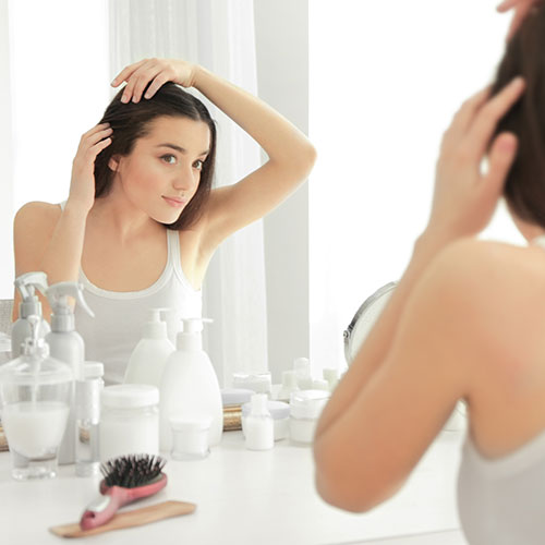 The One Spray You Should Use Every Night To Stop Hair Loss FOR GOOD (thinning hair)