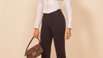 We Found The Most Flattering Top At Reformation--It Seriously Looks Good On Everyone!