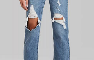 You Can Thank Bloggers For Finding The Best Distressed Jeans Ever For Just $22 Target