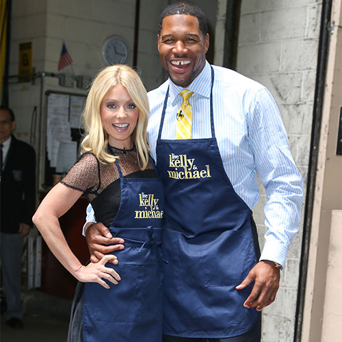 Michael Strahan Just Let This HUGE Secret About Kelly Ripa Slip