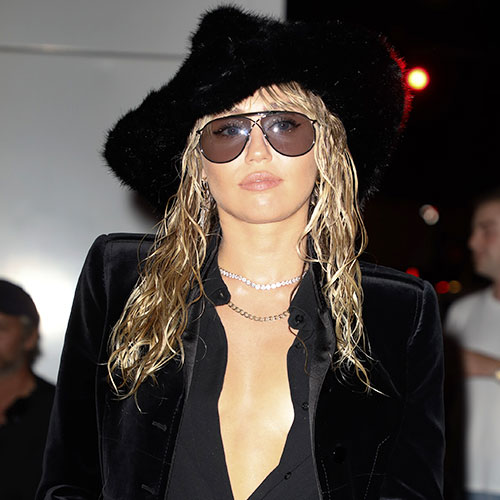 You HAVE To See The Sexy Bra Top Miley Cyrus Wore At New York Fashion Week
