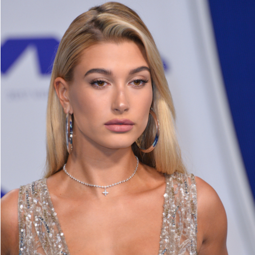 This Silver Mini Dress Hailey Bieber Wore At Paris Fashion Week Has To Be The Shortest Thing She's Worn, Like, EVER!