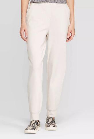 Leg Knit Jogger Pants