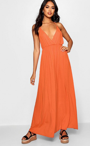 Sweeping Maxi Dress