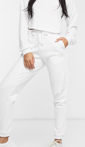 Sweatpants In White