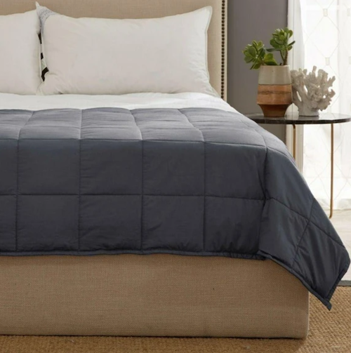 Having Trouble Sleeping These Days? This $39 Weighted Blanket Might Help