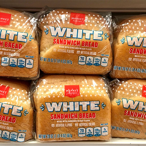 white bread worst pantry food weight gain