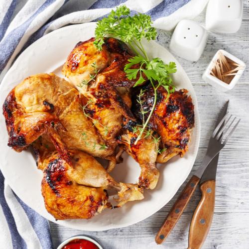 brick chicken