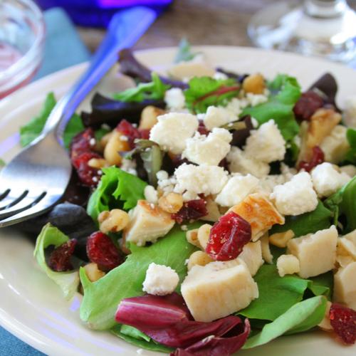 chicken cranberry salad