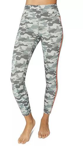Camo Rainbow-Stripe Leggings