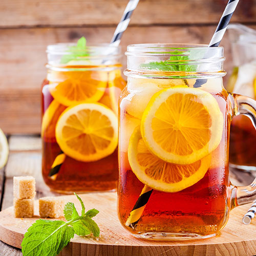 iced tea unhealthy sugary drink weight gain