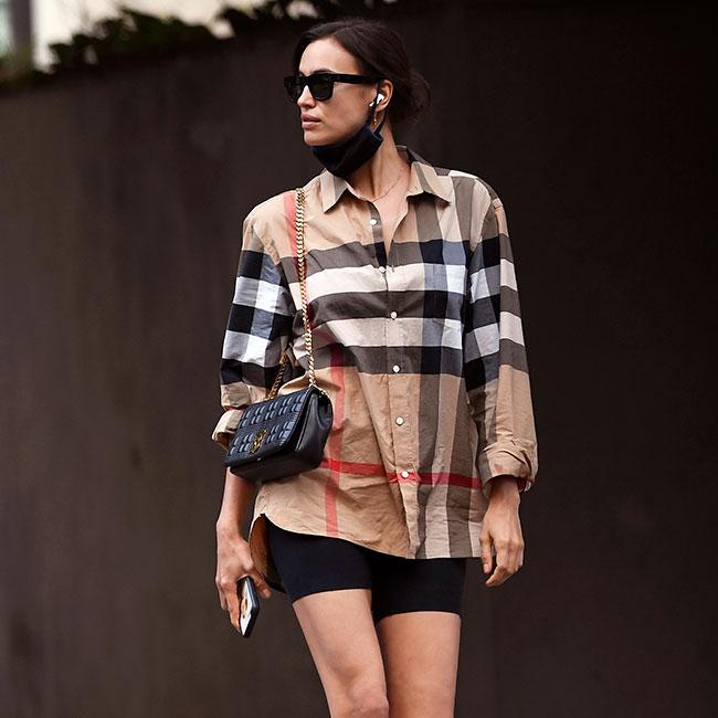Ready To Rock The Bike Shorts Trend? Here's Where To Buy Irina Shayk's $22 Pair