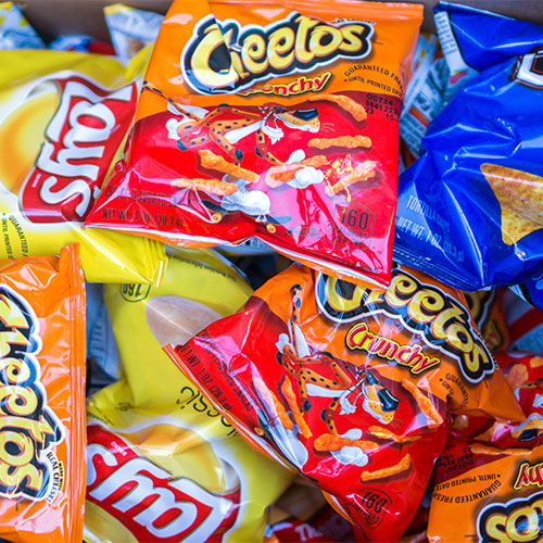 assortment of chips