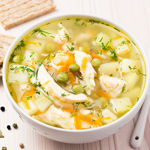 Detox Southwest Chicken Soup