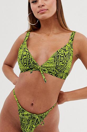 Eco Triangle Bikini Top