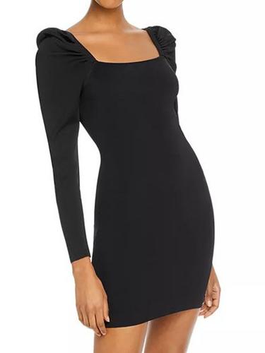 Sleeve Body Con Dress