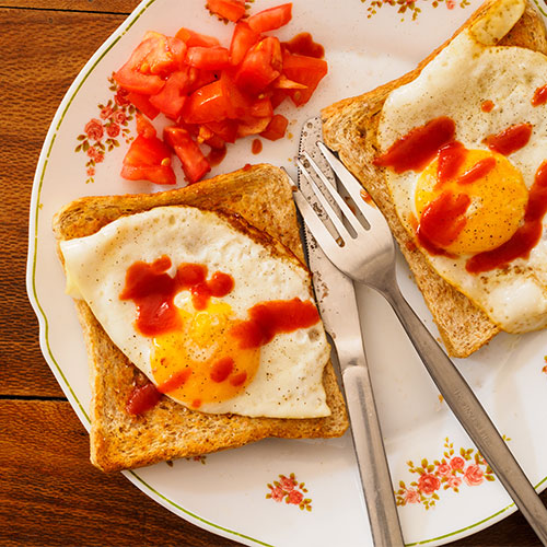 ketchup worst ingredient with eggs