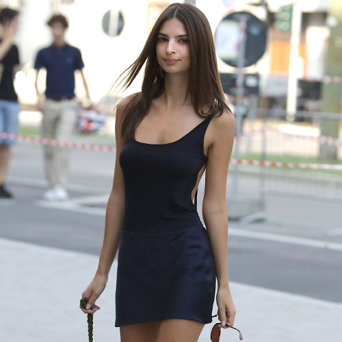 You Might Want To Sit Down Before Seeing The Pics Of Emily Ratajkowski That Were Just Released--She's Practically Naked!