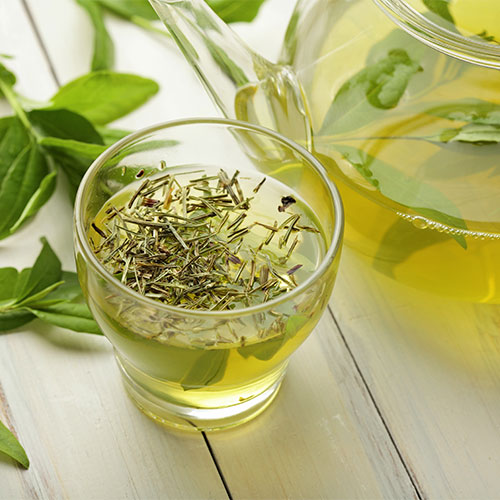 green tea best anti aging drink skincare