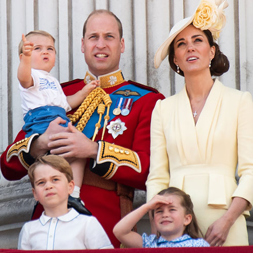 Prince William and His Family