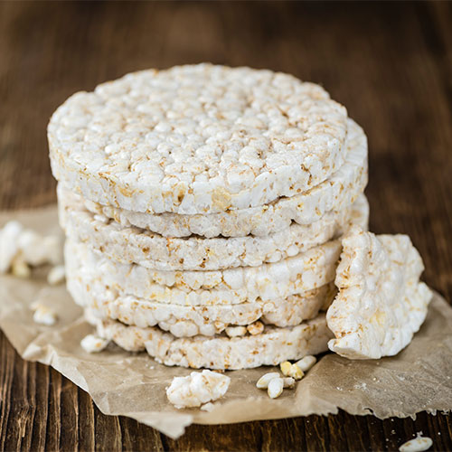 rice cake unhealthy snack