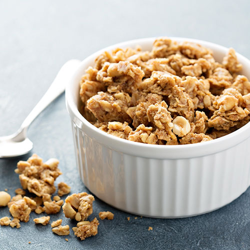 granola in a cup