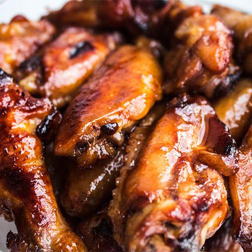 BBQ Paleo Chicken Wings
