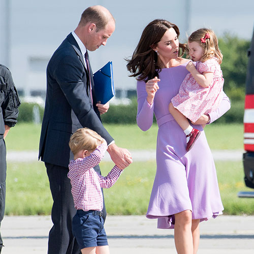 Kate Middleton and Prince William and kids