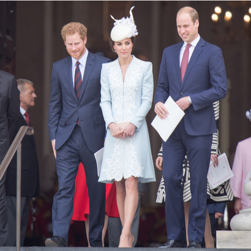 William, Kate, and Harry