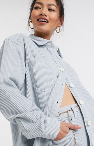 Oversized Cord Shirt