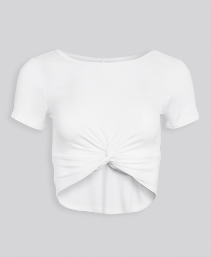 Reversible Cropped Tee