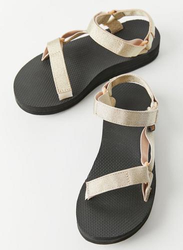 Metallic Sandal