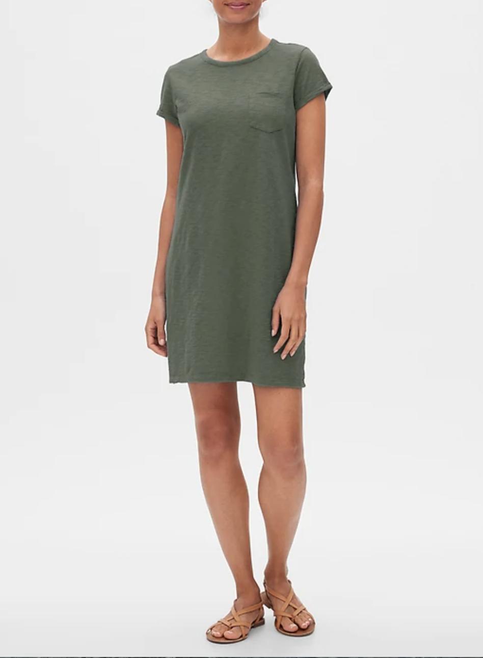 gap factory t shirt dress sale