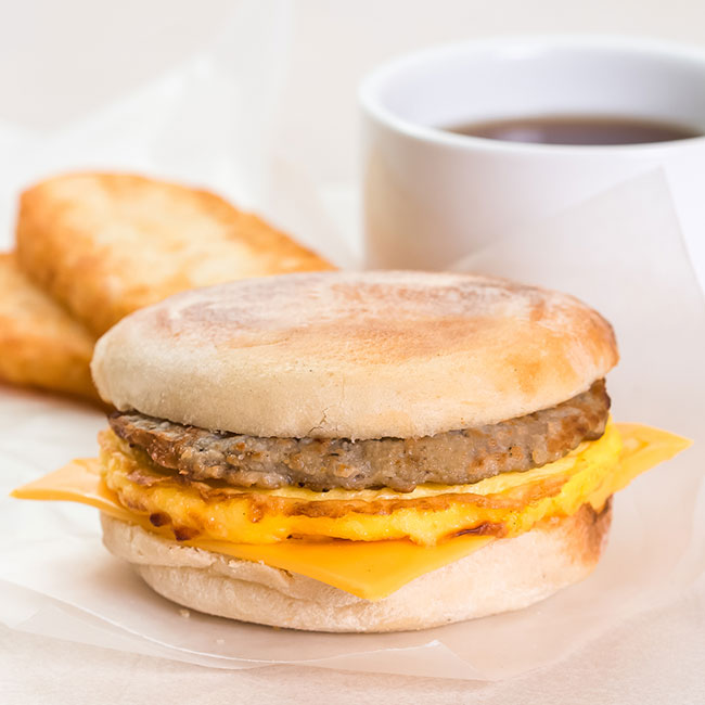 The One Breakfast Sandwich You Should Never Order At The Drive-Thru Because It Slowly Destroys Your Metabolism