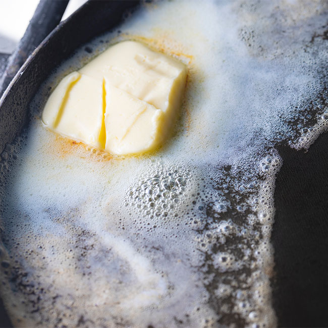 This Is The Worst Mistake You Can Make When Cooking With Butter