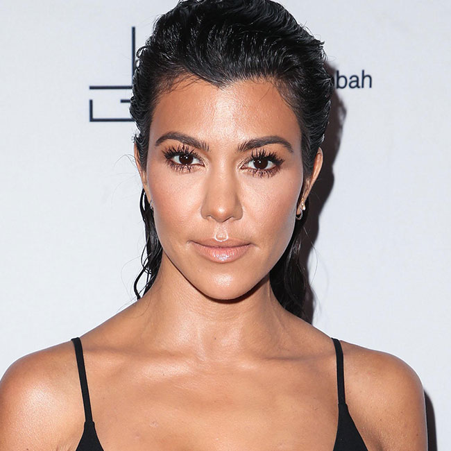 You Might Want To Sit Down Before Seeing This Low-Cut Bathing Suit Kourtney Kardashian Wore On Vacation–We're Blushing For Her! (ALEX)